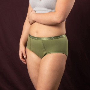 Eve – Maximum Capacity Period Underwear (Olive)