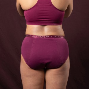 Eve – Maximum Capacity Period Underwear (Plum)