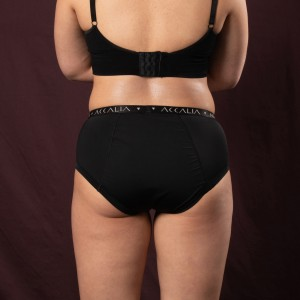 Oriana – Period Underwear for Daytime (Black)
