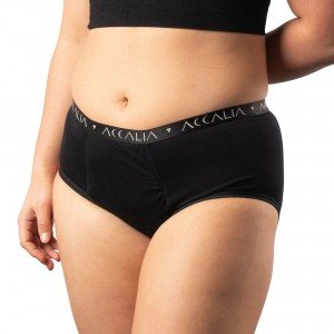 Eve – Maximum Capacity Period Underwear (Black)