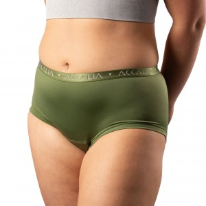Oriana – Period Underwear for Daytime (Olive)