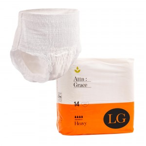Attn: Grace Pull-up Incontinence Brief – Large (14 Pack)