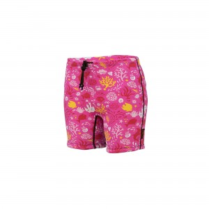 Infant Reusable Swim Nappy – SUNSET PINK **