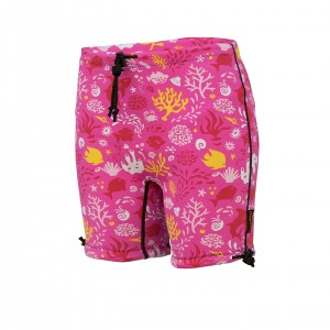 Kids Containment Swim Short – SUNSET PINK **