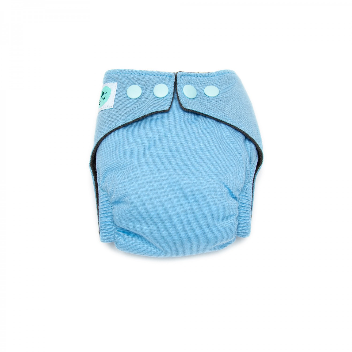 All in one Newborn Cloth Nappies – 0-4 Months – Daydream Blue