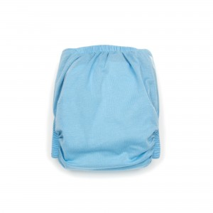 Modern Cloth Nappy – 4mo to 2.5yr – includes 2 inserts – Daydream Blue