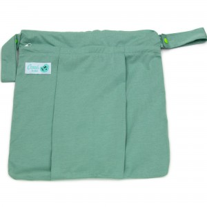 Conni Bubs Wet Bag Dual Pocket – Powder Mint