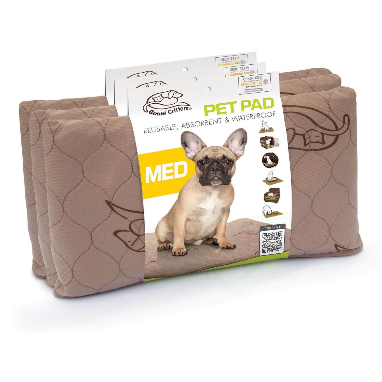 Conni Critters Pet Pad - Medium (3 Pack)