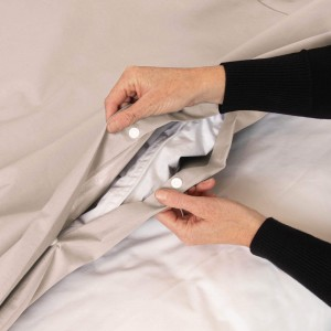 Conni Waterproof Quilt Cover - Ivory